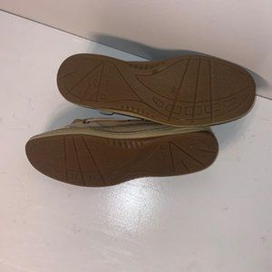 Sperry Shoes - Sperry 8.5 Tan Top Sider Sneakers